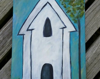 12 X 24 White Church