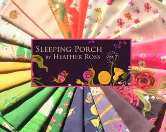 SALE Sleeping Porch by Heather Ross FQ Bundle