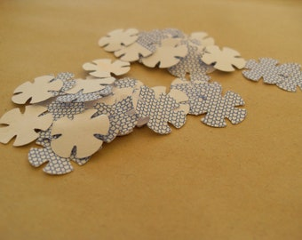 Recycled/Upcycled Paper Envelope Punched Flowers