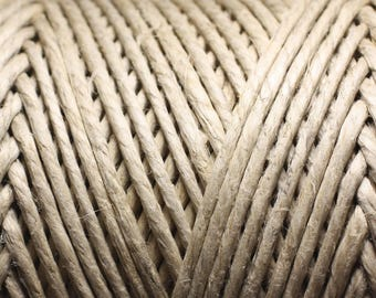 2 m - 3mm Ecru 4558550006929 hemp twine cord