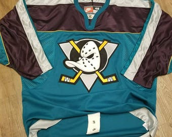 Size 48 XL Mighty ducks jersey,anaheim ducks jersey, 90s,used,paul kariya jersey,Nike jersey,nhl hockey jersey,