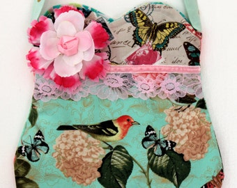 Songbirds and Butterflies  Purse