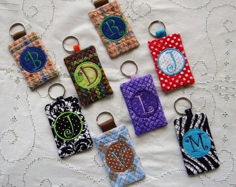 Card holder keychain etsy keychain card holder id business card credit cardpersonalized reheart