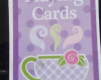 vintage deck of Playing Cards  FLOWERS sealed