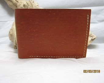 Saddle Tan Leather Wallet