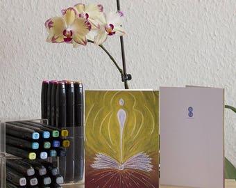 Greeting Card - Writing