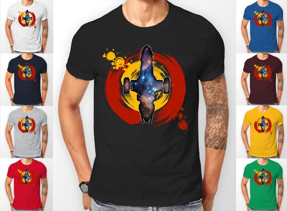 Firefly Serenity painted Ship Space Tee shirt T-Shirt