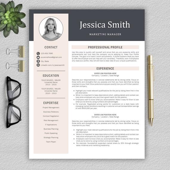 sjabloon voor moderne cv    professional resume template voor