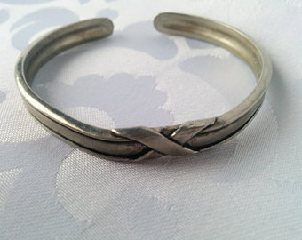 Seagull Pewter Cuff Bracelet