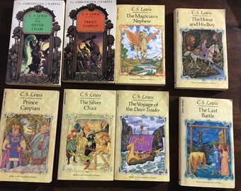 C.W. Lewis Chronicles Of Narnia Book Set ( 8 Books)