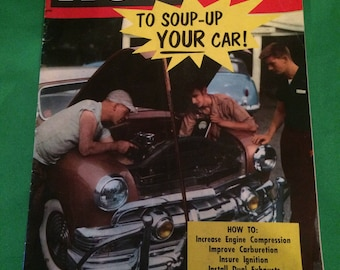 How To Soup Up Your Car Magazine Fall 1955 Vintage Cars & Automotive