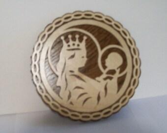 Mary & baby Jesus Plaque