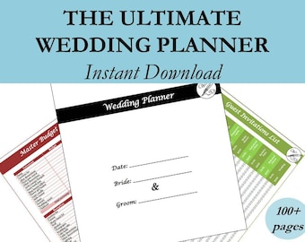 Wedding Planning Book, Wedding Planner Book, Wedding Binder, Wedding Timeline, Wedding Budget Planner, Wedding Planner Printable, #wp2