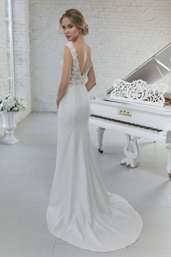 Wedding Dress Hochzeitskleid abnehmbar Volantrock Removable