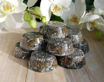 Lot of FIVE Orgonite® Tower Busters EMF Protection