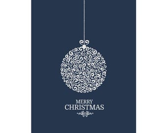 Naturally Elegant Christmas Poster - Downloadable Print