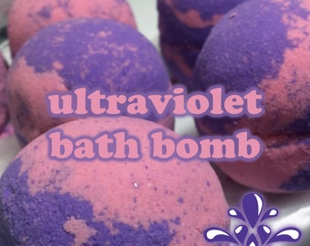 Ultraviolet Bath Bomb   Colorful bath experience! Skin loving ingredients!