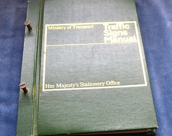 RARE 1960's Traffic Signs Manual Ministry of Transport Civil Engineering