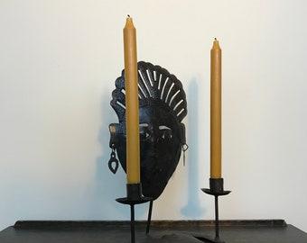 Haitian Tin Candleholder By Brissot Hyppolite