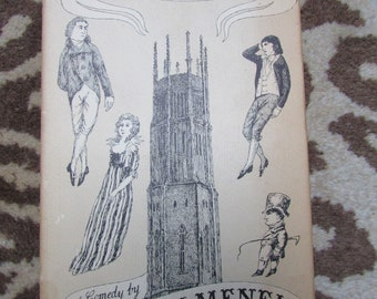 Edward Gorey Illustrated Cover - Fonthill by Aubrey Menen - 1st Edition 19743