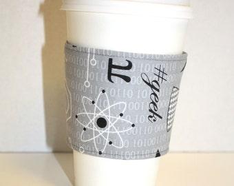 Science Geek  Reusable Coffee Sleeve