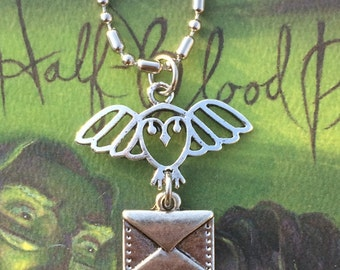 Harry Potter Inspired Owl Necklace