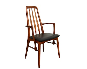 Eva Teak Arm Chair by Niels Koefoed for Koefoed Hornslet Danish Modern