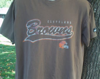 Cleveland Browns T Shirt by Puma Size Medium ~~~ FREE SHIPPING in the USA!!