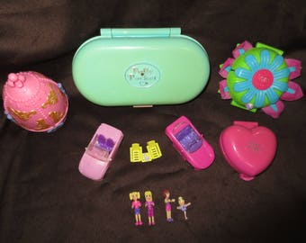 Polly Pocket Collection 11pcs Vintage & Newer