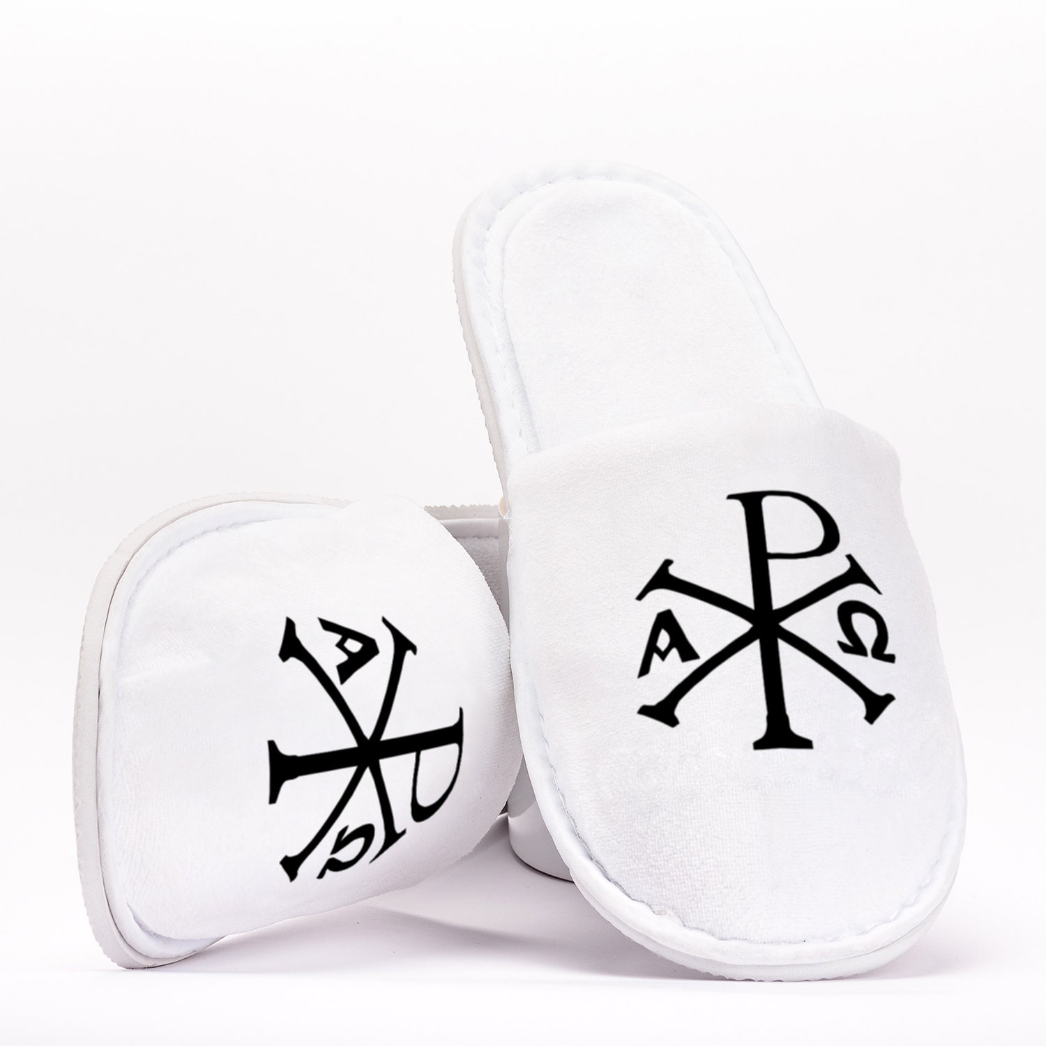 The chi rho symbol images symbol and sign ideas chi rho xp christ christian symbol monogram slippers gift description chi rho xp christ christian symbol buycottarizona Images