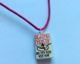 Agatha Christie - And Then There Were None necklace