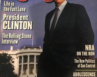 Bill Clinton Rolling Stone Magazine