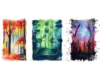 Forest Print Pack - A5/A4 Prints
