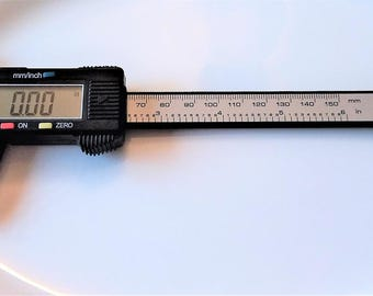 Caliper-LCD Digital Caliper-High Quality Caliper-150mm 6 inch Electronic Measuring Tool-Sliding Micrometer-Jewelry Supply-Celestial Luxuries