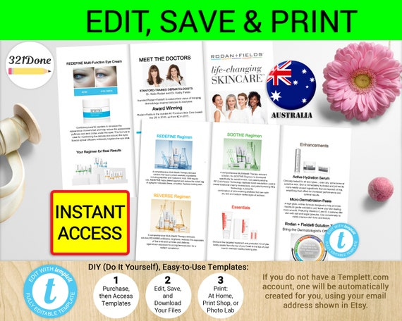 Rodan and fields brochure australia printable rodan flyer solutioingenieria Image collections