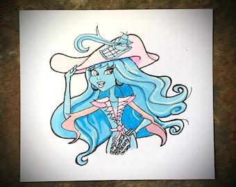 Vandala - Monster High - Original Sketch