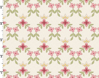ON SALE 1/2  Yard Maywood Studios Graceful Moment's Little Lattics 8325-E