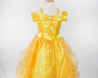 Bella from Beauty & The Beast Princess Costume for Kids