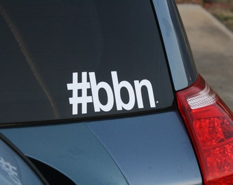 Big Blue Nation Vinyl Decal