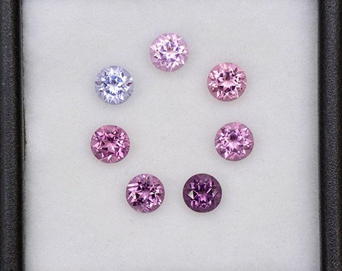Stunning Multi Color Spinel Gemstone Set from Burma and Sri Lanka 2.15 tcw.
