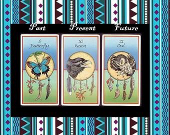 Past, Present & Future - Medicine Cards
