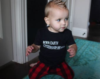 Born Earth Citizenship Heaven