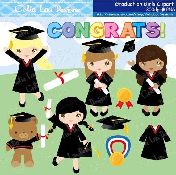 Art Girls Virtual Preschool: Graduation Clipart Preschool Kindergarten Graduation Clip