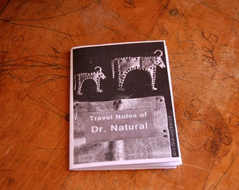 Art Zine, Travel Notes of Dr. Natural