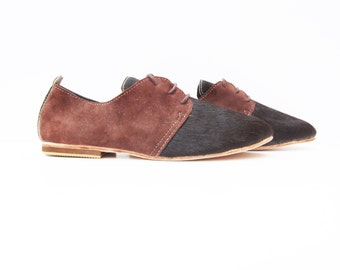 Derby 100% Brown cowhide