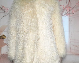 Vintage sheep wool jacket size 36