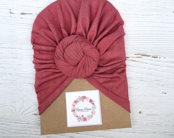 Rustic Red Turban