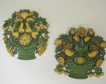 Fruit Wall Plaques Etsy