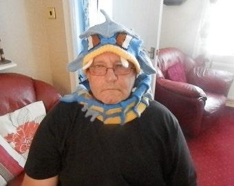 Knitted Gyarados Pokemon Hat