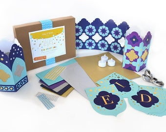 New Moon Craft Eid Decor Craftbox: Gift for Ages 4+